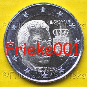 Luxemburg 2 euro 2010 comm