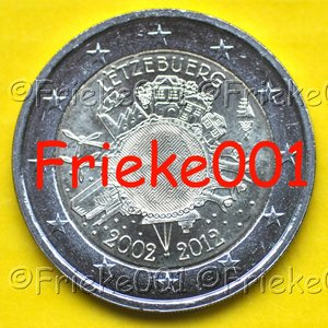 Luxembourg 2 euro 2012 comm.(Cash)