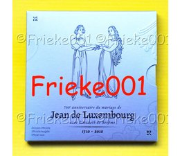 Luxemburg 7 euro 2010 proof in blister