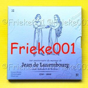 Luxembourg 7 euro 2010 en blister belle épreuve