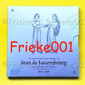 Luxembourg 7 euro 2010 proof in blister