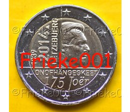 Luxemburg 2 euro 2014 comm