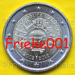 Italië 2 euro 2012 comm.(Cash)