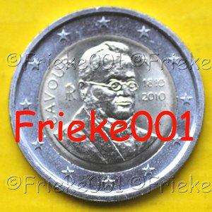 Italië 2 euro 2010 comm