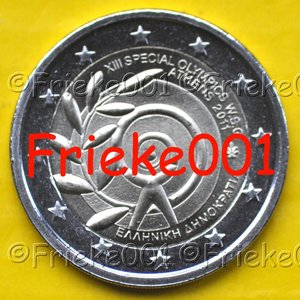 Griekenland 2 euro 2011 comm