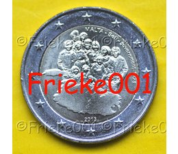 Malta 2 euro 2013 comm