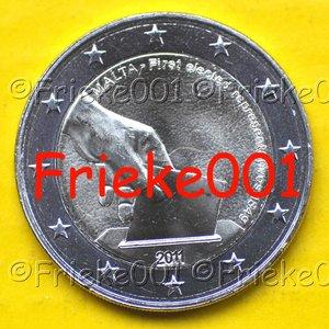 Malta 2 euro 2011 comm