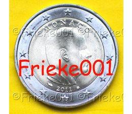 Monaco 2 euro 2011 unc