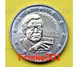 Germany 2 euro 2018 comm.(Helmut Schmidt)