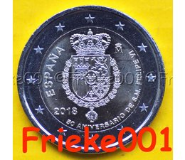 Spanje 2 euro 2018 comm.(Felipe)
