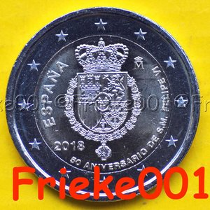 Espagne 2 euro 2018 comm.(Felipe)