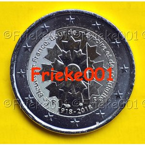 Frankrijk 2 euro 2018 comm.(korenbloem)