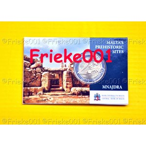 Malta 2 euro 2018 comm in blister.(Mnajdra)(Without mintmark)