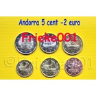 Andorra 5 cent tot 2 euro 2014 unc