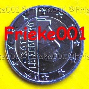Luxembourg 2018 unc.(2 euro avec poinçon)