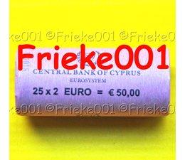 Cyprus 2 euro rol 2015 comm.(30 jaar europese vlag)