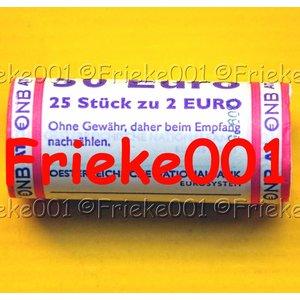 Oostenrijk 2 euro rol 2015 comm.(30 jaar europese vlag)
