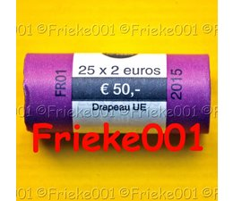 France 2 euro rol 2015 comm.(30 years european flag)