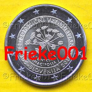 Slovenië 2 euro 2010 comm
