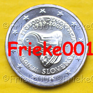 Slovakia 2 euro 2009 comm