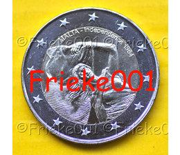 Malta 2 euro 2014 comm.(Onafhankelijkheid)