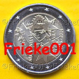 Slovenië 2 euro 2014 comm