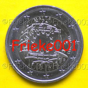 Malta 2 euro 2015 comm .(30 jaar europese vlag)