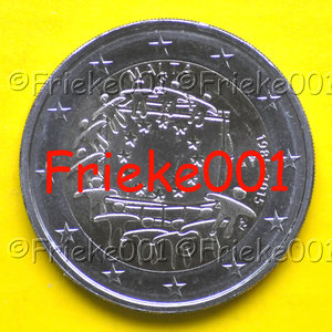 Malta 2 euro 2015 comm.(30 years european flag)