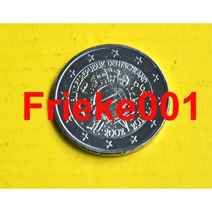 Allemagne 2 euro 2012 comm.(10 ans euro cash)