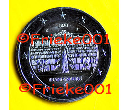 Duitsland 2 euro 2020 comm.(Brandenburg)