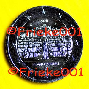 Allemagne 2 euro 2020 comm.(Brandebourg)