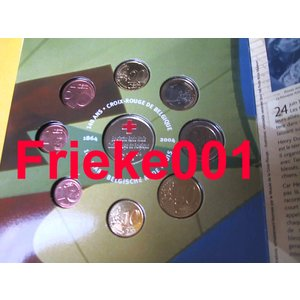 Belgium 2004 bu.Colored medal)