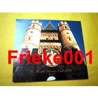 Allemagne 2004 bu.(World Money Fair Basel)