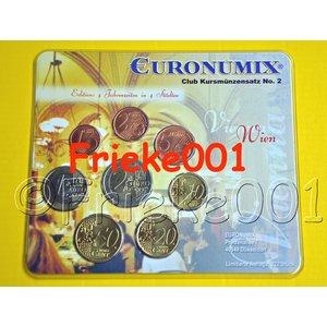 Duitsland 2002 blister.(Euronumix Wenen) set 69/222