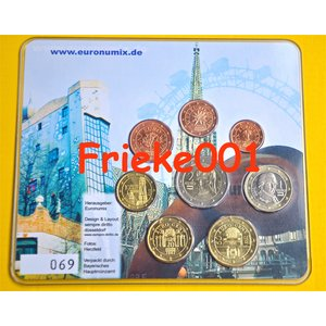 Germany 2002 blister.(Euronumix Vienna) set 69/222
