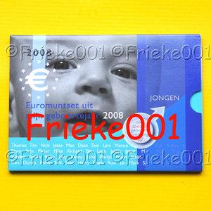 Netherlands 2008 bu.(Baby set boy)