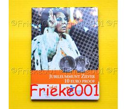 Netherlands 10 euro 2005 proof.(Queen Beatrix anniversary)