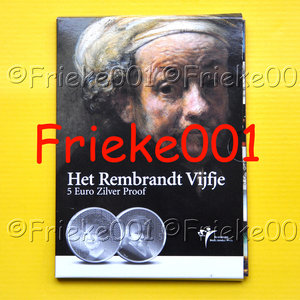 Nederland 5 euro 2006 proof.(Rembrandt)