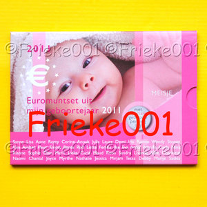 Netherlands 2011 bu.(Baby set girl)