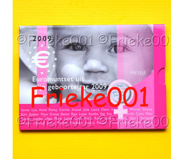 Netherlands 2009 bu.(Baby set girl)