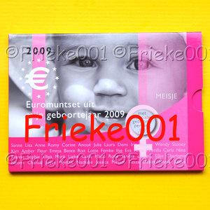 Nederland 2009 bu.(Babyset meisje)