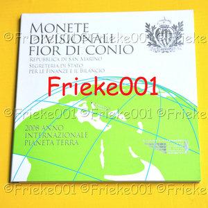 San Marino 2008 bu.(Met 5 euro)