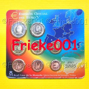 Spanje 2003 bu.(met barcode)