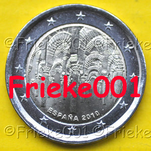 Spain 2 euro 2010 comm