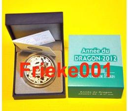 Frankrijk 10 euro 2012 Proof.(Jaar van de draak)