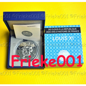 France - 10 euros 2013.(Louis XI)