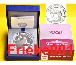 France 10 euro 2011 Proof.(WWF)