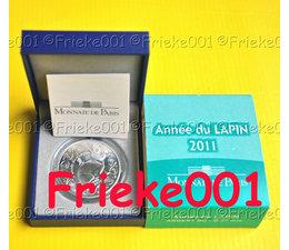 France 5 euro 2011 bu.(Year of the rabbit)