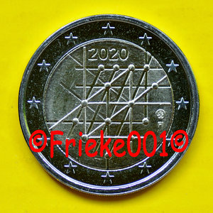 Finlande 2 euro 2020 comm.(Turku)