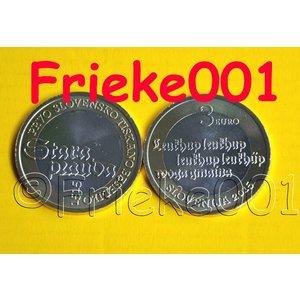 Slovenia 3 euro 2015 unc